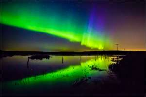 Beautiful Picture of the Aurora Borealis aka Northern Lights
