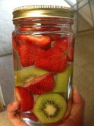 Kiwi Strawberry Vodka Infusion